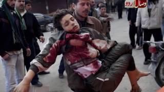 شام میں جنگ بندی کا سہہ فریقی معاھدہ۔۔۔ SHAM MEN JANG BANDI