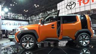 2018 Toyota FT-4X Concept | Exterior and Interior 360 walkaround | 2017 New York Auto Show