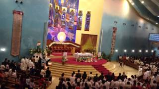 Oh Queen of the Holy Rosary - Recessional Hymn by the Grand Choir, Doha Qatar