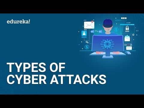 8 Most Common Cybersecurity Threats | Types of Cyber Attacks | Cybersecurity for Beginners | Edureka