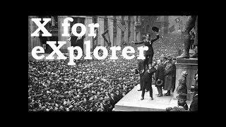 Charlie Chaplin ABCs - X for eXplorer