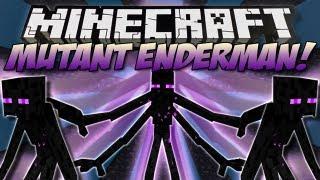 Minecraft | MUTANT ENDERMAN! (Mutant Creatures) | Mod Showcase [1.5]