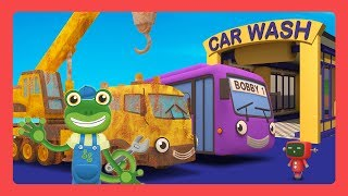Truck Wash For Kids with Gecko
