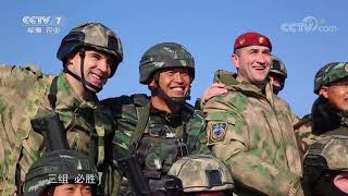 China and Russia Joint training