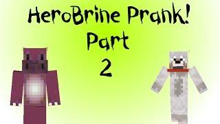 Minecraft Xbox - Herobrine Prank - Part 2