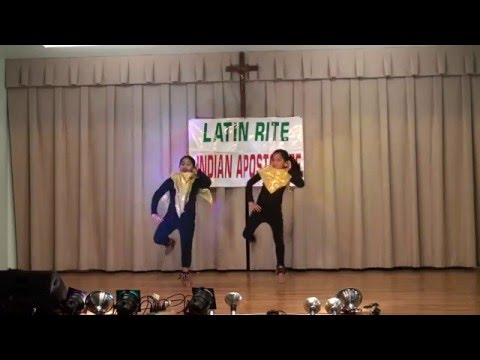 Dance by Malbina and Neha, Christmas & New Year 2015 Celebrations, Indian Apostolate 2015