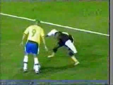football skills Zidane Ronaldo and Ronaldinho