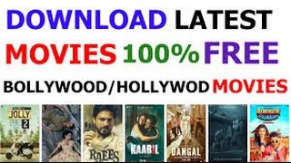 How to download bollywood  movies HD no torrent and fast download!!!free