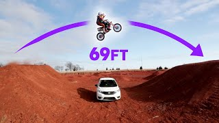 Tandem Dirtbike Jump with Ronnie Mac!