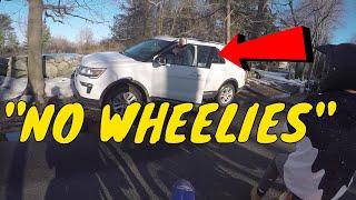 Angry Lady HATES Wheelies