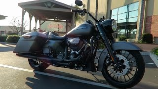 2017 Harley-Davidson Road King Special First Ride │Review and Test Ride