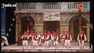Chirigota, Lo siento Patxi, no todo el mundo puede ser de Euskadi - Cuartos