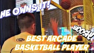 The Best Arcade Basketball Player?? So Many Jackpots! Dave And Busters Arcadejackpotpro