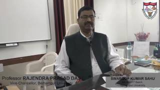 A Message To BUMCA From Vice-Chancellor | Berhampur University Odisha