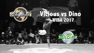 Vicious vs DinhoStil [Final] // Bboy World // WIBA 2017 Armless Battle