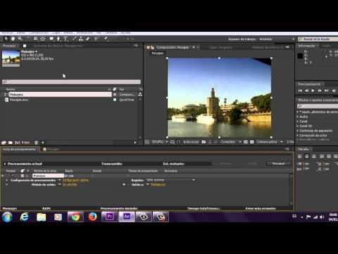 Cómo guardar Adobe After Effects como mp4