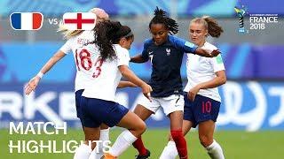 France v England - FIFA U-20 Women's World Cup France 2018 - Match 31