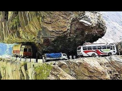 Worlds most dangerous & beautiful road , shimla to manali , himachalpradesh , India