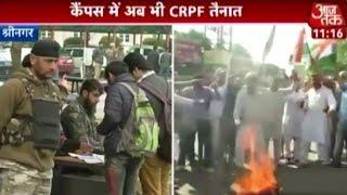 NIT Srinagar Student Apprises Aajtak Of Campus Scenario
