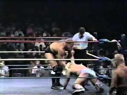 WW 9/1/89- Sid Vicious vs Joe Cruz Funk & Hart Promo