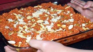 Gajar Ka Halwa Recipe - Carrot Halwa Recipe - Easy Indian Dessert