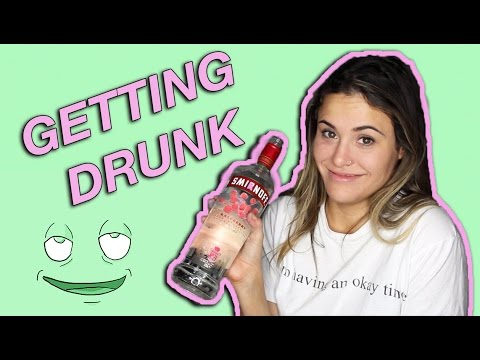GETTING DRUNK FOR THE FIRST TIME