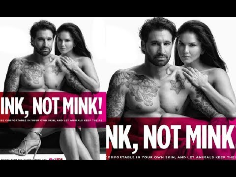 Sunny Leone And Husband Daniel Weber Bares It All For Latest PETA Campaign