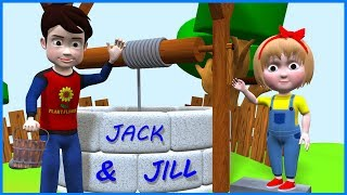 Jack And Jill | Nursery Rhymes For Children | Poems For Kids