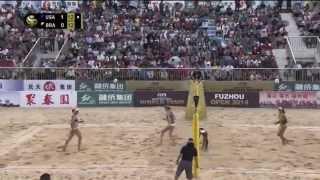 2014 Fuzhou Open Women's Final - Walsh/Ross USA vs Juliana/Maria BRA