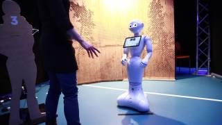 Scifest 2017 Pepper-robotti