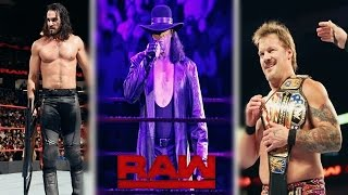 WWE Raw, Jan. 9, 2017 Highlights: Undertaker & HBK returns, Jericho Is The New US Champion..