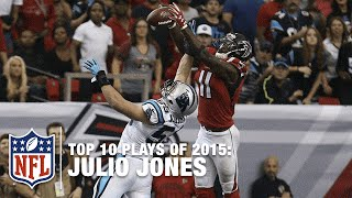 Top 10 Julio Jones Highlights of 2015 | NFL