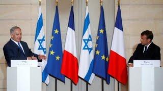 FULL: Netanyahu-Macron Press Conference on Iran and the JCPOA