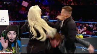 WWE Smackdown 1/10/17 Ambrose Asylum