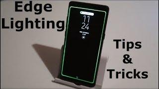 Edge Lighting Tutorial & Customization | Note8, Galaxy S8 & GS8+