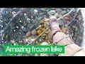 Man Films Amazing Walk Across World's Deepest Frozen Lake