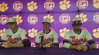TigerNet.com - Krall, Jolly, Pinder post Virginia Tech series