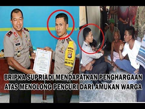 Keberanian Polisi menghadang Amukan Warga yang ingin menghakimi pencuri Ayam