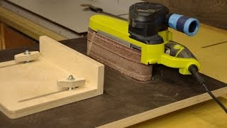 Homemade Belt Sander Table