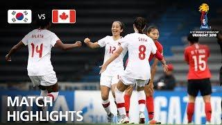 Korea Republic v Canada  - FIFA U-17 Women's World Cup 2018™ - Group D