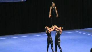 2011 Acro Nationals Level Seven Womens Trio - Balance Routine