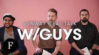 Guys React to London Fashion Week