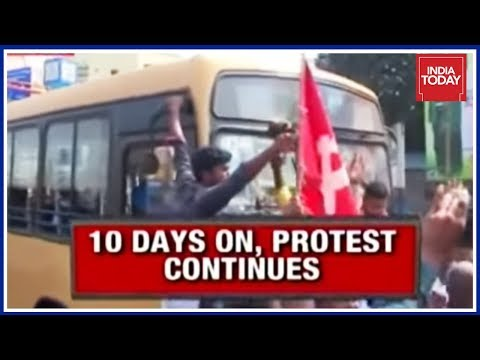 Xxx Mp4 TN S 10 Day Bus Fare Hike Strike Hits Commuters As Oppn Stages Road Roko 3gp Sex