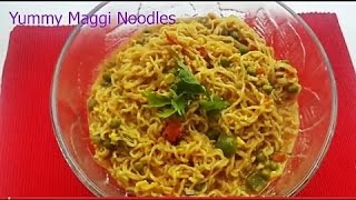 How to cook Masala Maggi noodles