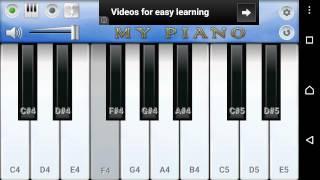 Easy piano lesson sun saathiya abcd 2