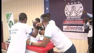 Somali Youngsters Encourage Peace Through Arm-wrestling Challenge