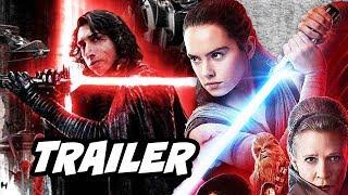Star Wars The Last Jedi Snoke Trailer and Lightsaber Battles Breakdown