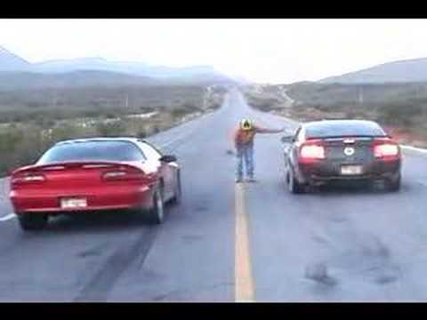 Mustang GT 2006 Turbo VS Camaro SS Supercharged