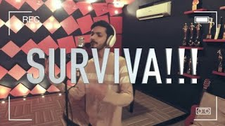 Vivegam - Survive Tamil Lyrics - Anirudh Feat Yogi B, Mali Manoj | Ajith Kumar | By - Siva