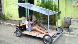 Solar Powered Kart Made in the Philippines
